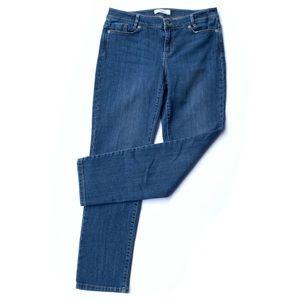 J. JILL 6P Weekender Denim Jeans Straight Leg